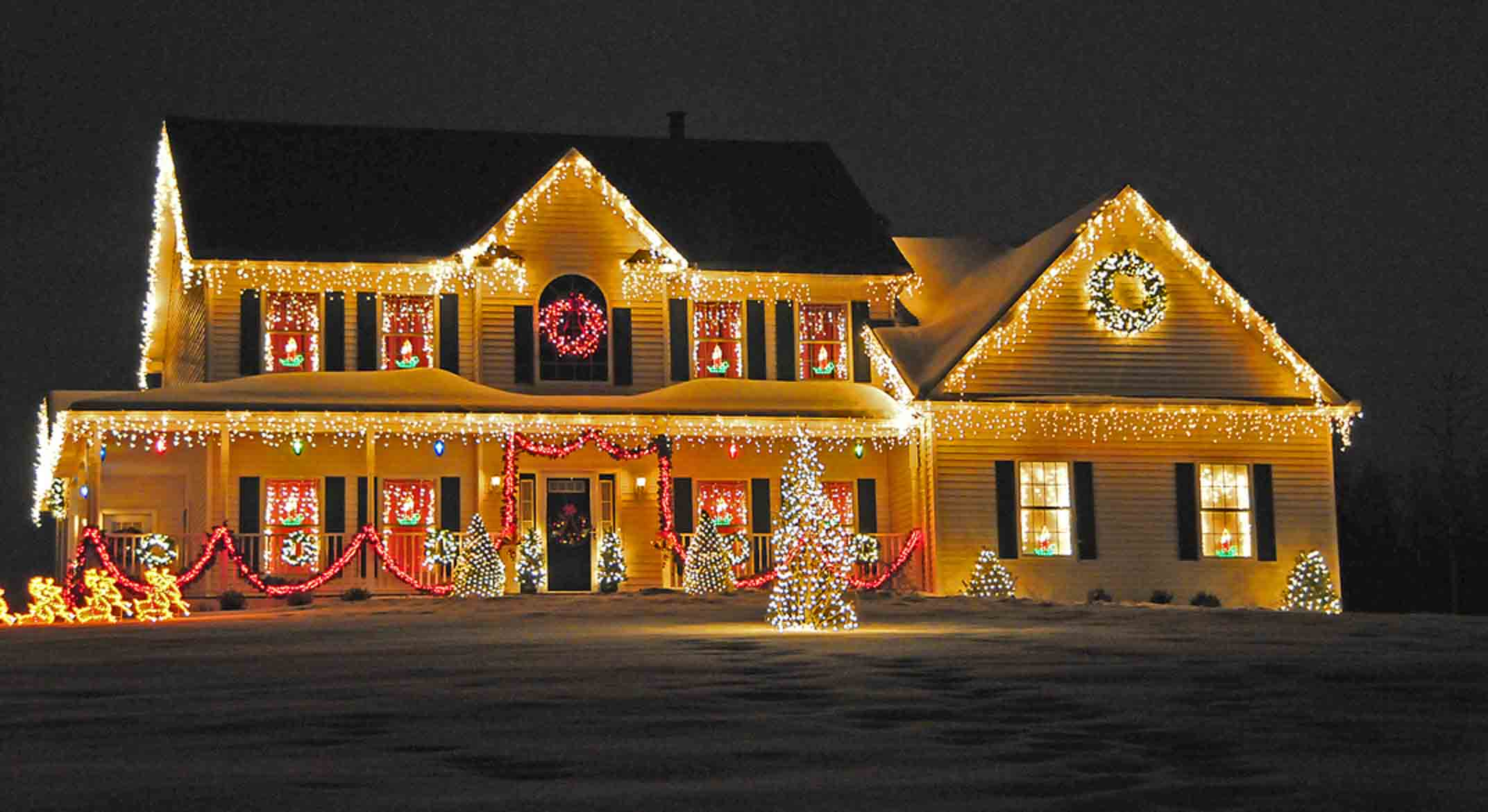 christmas lights, christmas lights on houses, animated christmas lights, cartoon christmas lights, christmas lights border, led christmas lights-16