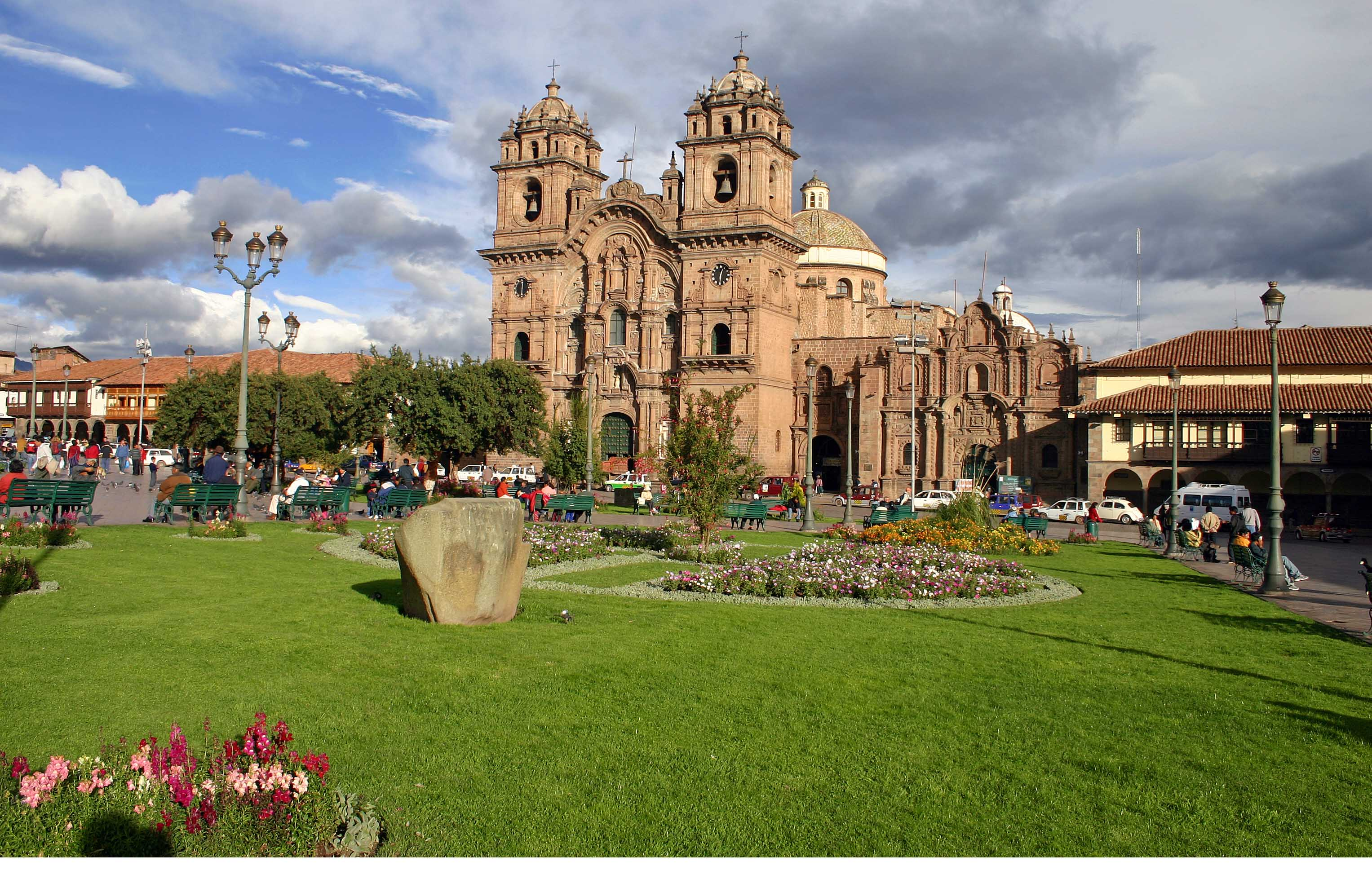 Cusco Peru  city images : The Cathedral, Plaza de Armas, Cusco, Peru