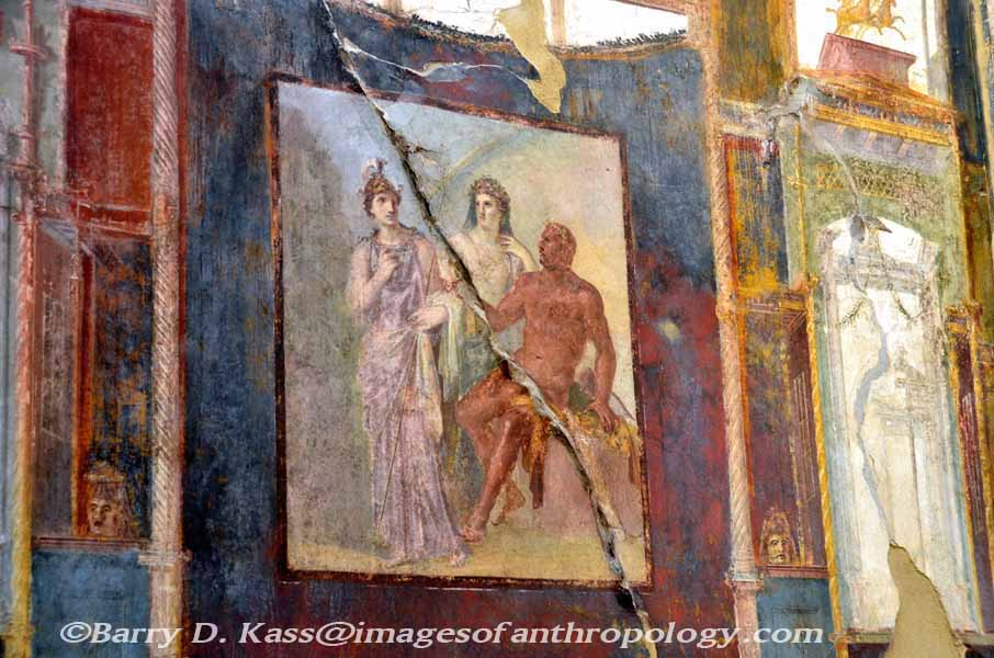 Ancient roman herculaneum italy for Ancient greek mural