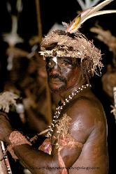 Portrait of a Kusare warrior Papua New Guinea