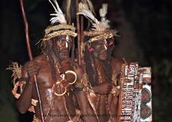 Kusare warriors Papua New Guinea