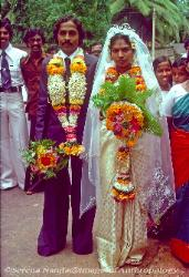 Wedding couple Kerala South India