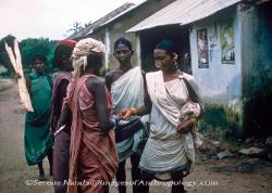 Money lenders with indigineous tribal people Orissa