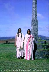 Two Toda women South India Nilgiri Hills