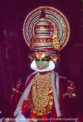 Kathakali dancer, Kerela, South India