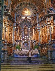 Chapel in the Cathedral, Plaza Mayor, Lima, Peru