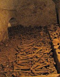 Bone crypt, the catacombs, Monasterio de San Francisco, Lima, Peu