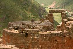 Inca shrine at Pisac, Andes Mts, Peru