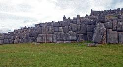 Inca walls at Sacsayhuaman, Peru