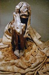 Mummy from the Paracas, culture, Museum of Anthropology and Archaeology, Lima, Peru