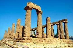 The Temple of Hera (Juno), Valley of the Temples, Agrigento, Sicily