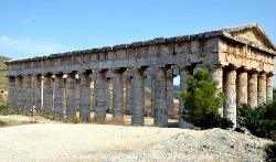 Temple at Segesta, Sicily, Italy