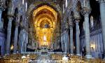 Interior, Monreale Cathedral, Sicily, Italy