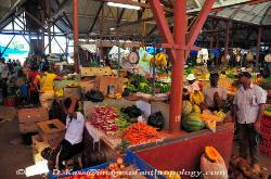 Jamaica, indoor produce market, Brown's Town