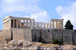 The Parthenon on the Acropolis in Athens image 1