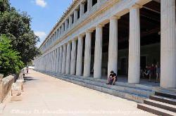 The Stoa of Attalos in Athens