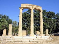 The Philippeion at Olympia, Greece