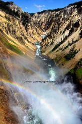 Grand Canyon of the Yellowstone Wyoming image 1