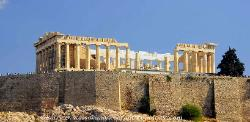 The Parthenon on the Acropolis in Athens image 4