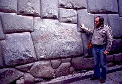 The stone of twelve angles, Inca wall, Cusco, Peru