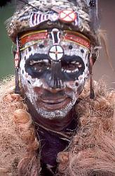 Kikuyu dancer, Kenya, image 1