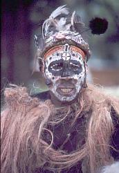 Kikuyu dancer, Kenya, image 2