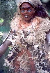 Kikuyu dancer, Kenya image 3