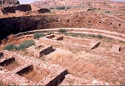 Great Kiva, Pueblo Bonito,, Chaco Canyon, New Mexico