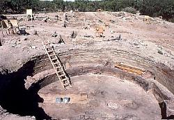 Great Kiva, Salmon ruins, New Mexico